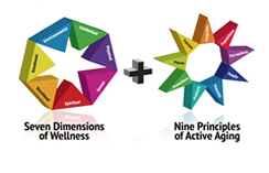 ICAA Active Aging and Wellness model
